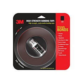 3M Tape  Hi Strength Bond , 12 mm x 5 m (1 Roll + Primer)