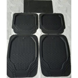 QPro Black 4D Rubber Mats