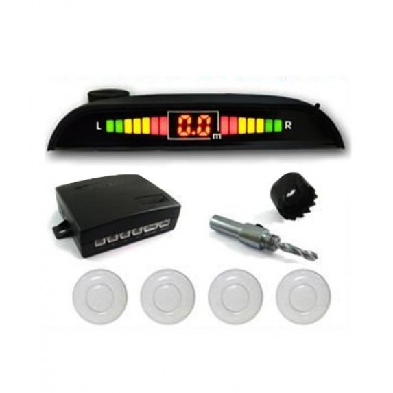 Reverse Car Parking sensor Silver Image