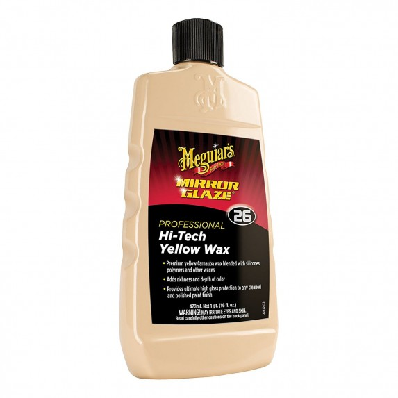 Meguiar's Professional Hi-Tech Yellow Wax 455 gms Bulk