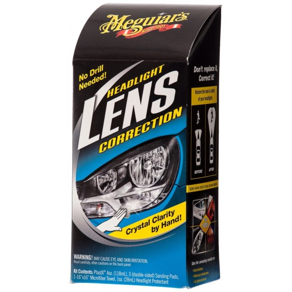 Meguiar's Headlight Lens Correction Kit image