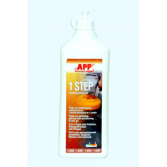 APP One Step Polishing Luster preserving Compound 500ml image