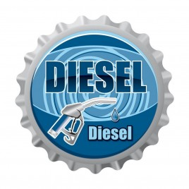 BOTTLE CAP DIESEL C019 DOMED