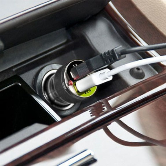 Bracketron Dual USB Car Charger image