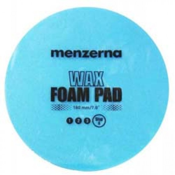 Menzerna Wax & Sealant Foam Pad 7 Inch Blue (180mm)