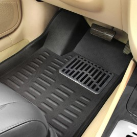 Vitera Brezza 4D Car Mat Black set of 5