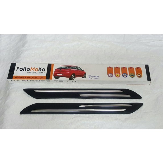 POKO MOKO Car Bumper Guard Chrome Image