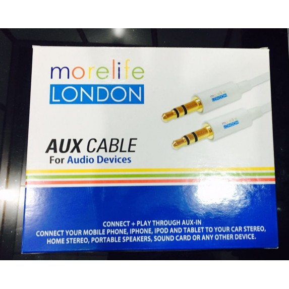 Morelife London Aux Cables Bulk Image