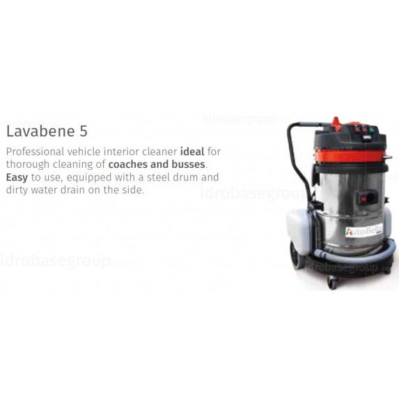 Lavabene 5 - 1200W, 60l tank, 2-two stage motor image