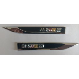 RALLY  Side Logo Metallic  car styling