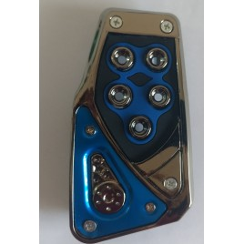 Sporty Blue Foot Pedal kit