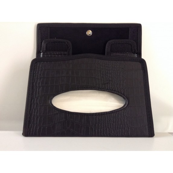 Black Tissue Box image