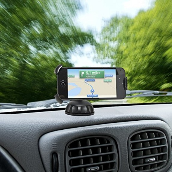 Bracketron Windshield & Dashboard Car Mobile Holder image