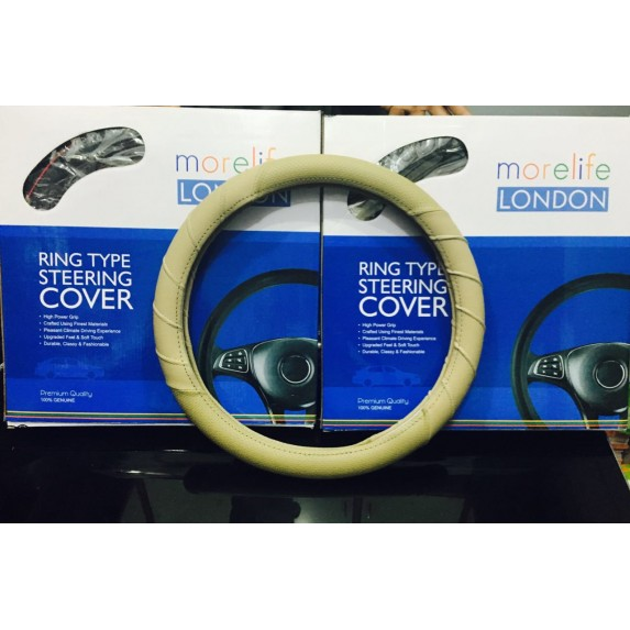MoreLife London Beige Ring steering Cover