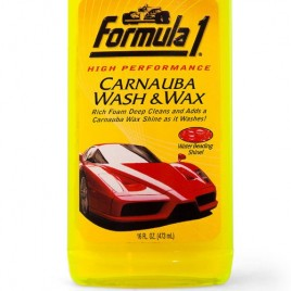 Formula 1 Carnauba Wash and Wax Shampoo (473 ml)