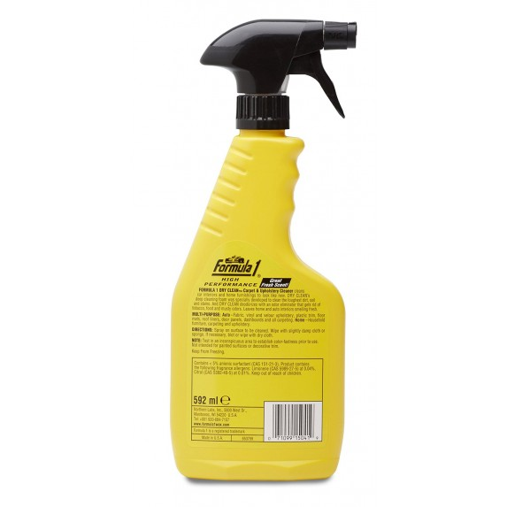 Formula 1 Dry Clean Carpet and Upholstery Cleaner (592 ml) image