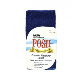 Microfiber Cloth 200 GSM Blue