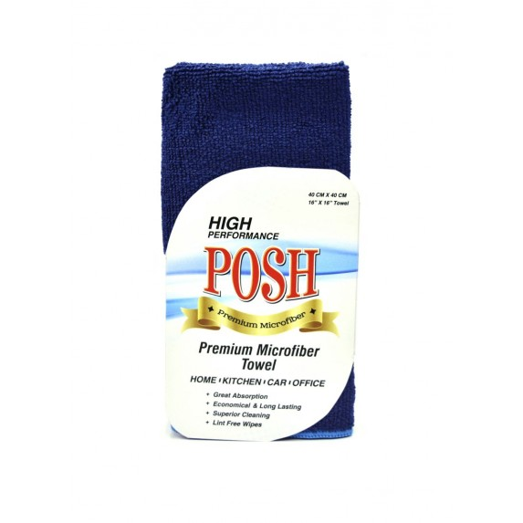 Microfiber Cloth 200 GSM Blue image