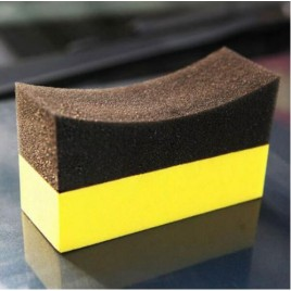Tyre Dresser Applicator Sponge Dual Surface