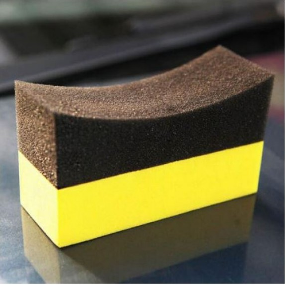Tyre Dresser Applicator Sponge Dual Surface image