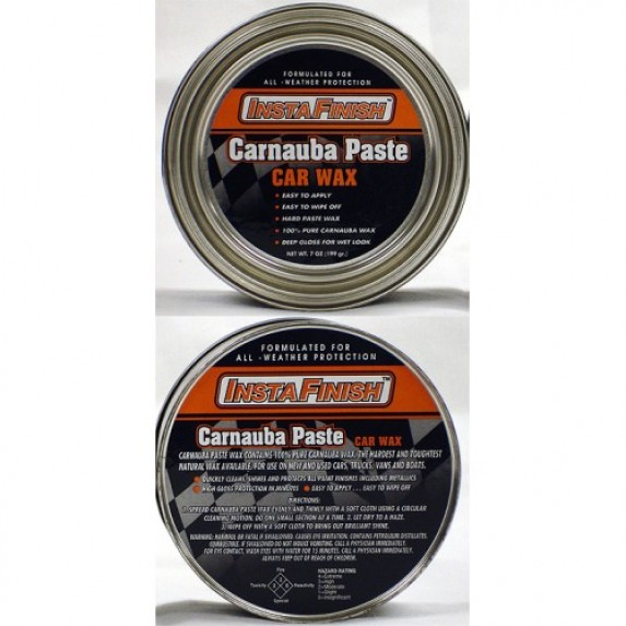 Insta Finish Carnauba Hard paste wax