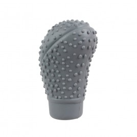 Grey Oval Head  Silicone 5 Speed Gear Knob